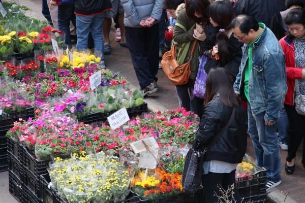 Mongkok Flowers Market