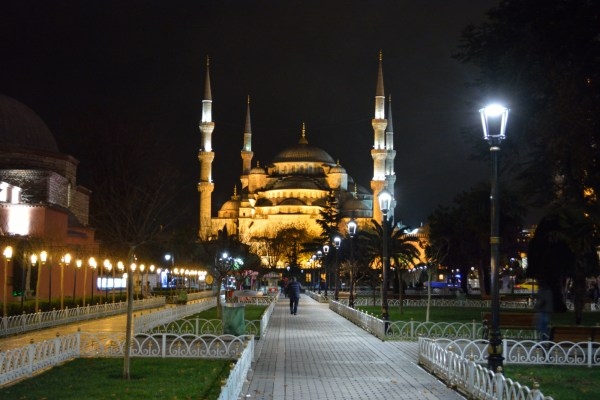 Boukoleon Palace or the Blue Mosque