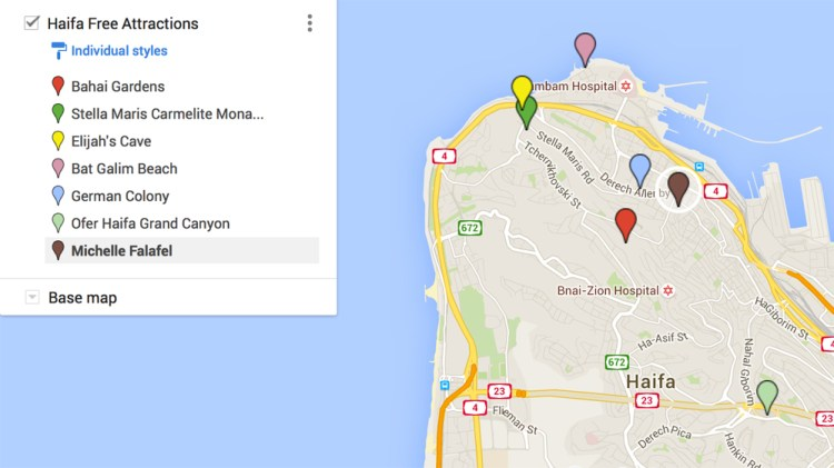 DIY Destinations' Free Attractions in Haifa