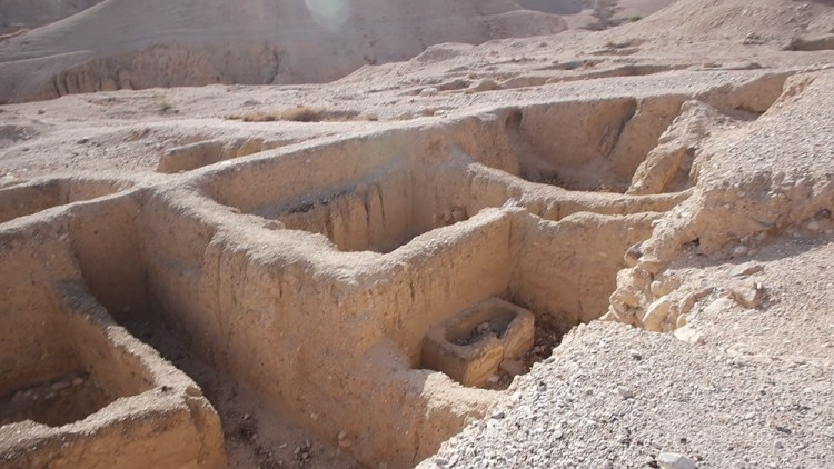 Herod's Palace in Jericho