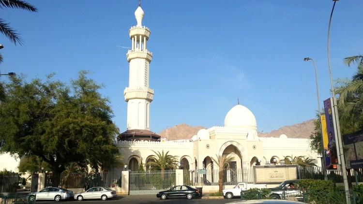 Al-Sharif Al Hussein Bin Ali Mosque (White Mosque)