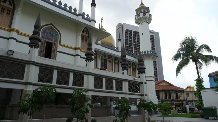 Sultan Mosque near Arab Street