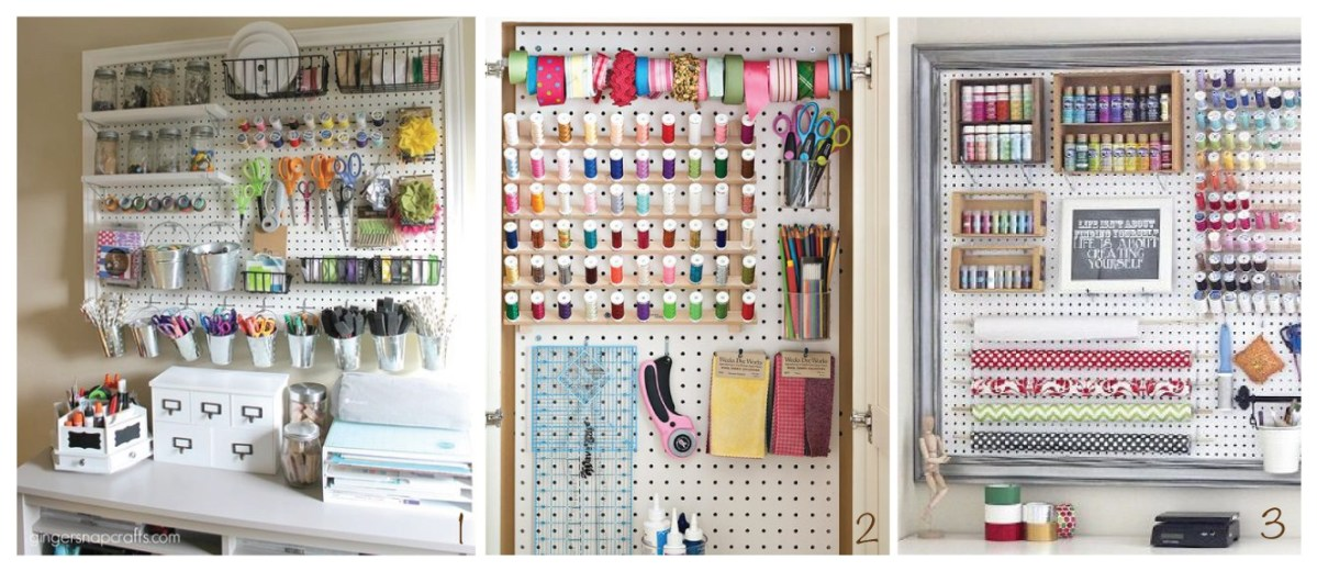 M Inspiration - Organizing The Sewing Room