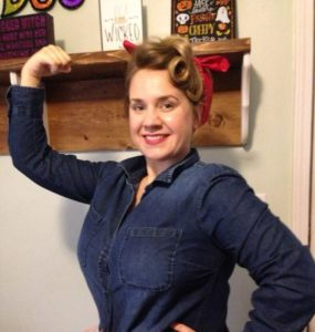 Best Rosie the Riveter Halloween Costume