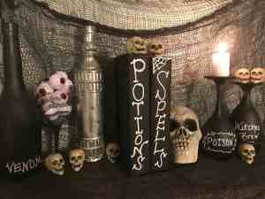 Cheap DIY Halloween Party decor