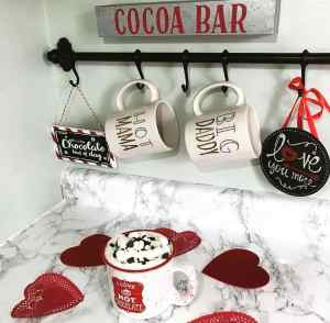 Valentine's Day Hot Chocolate Bar