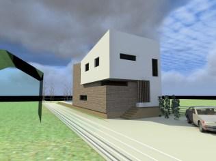 Kuća za odmor Bešlinec 3D prikaz