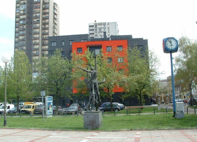 Višestambena zgrada Trg Sportova Zagreb