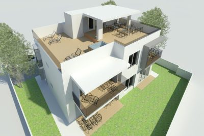 PROJECT FOR A VACATION RENTAL HOUSE IN ZADAR