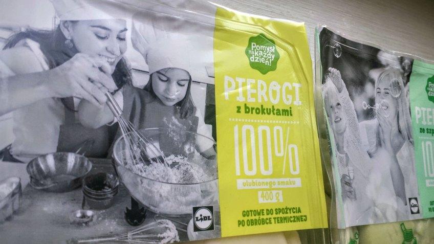 pierogi z brokułami