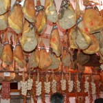 Butcher shop in Gerve en Chianti, Italy