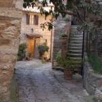 back street in Monte Firoelle, Italy
