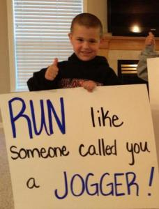 I'm Not a Jogger!