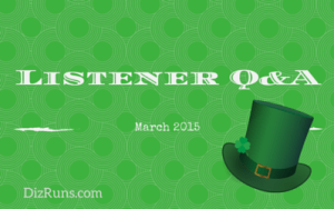 Listener Q&A March 2015