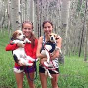 Amy Van Alstine and her Pups