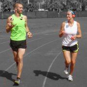 Bob and Trish Evans Joggling