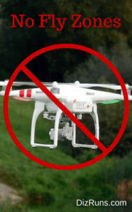 Are Drones at Races a Real Problem?