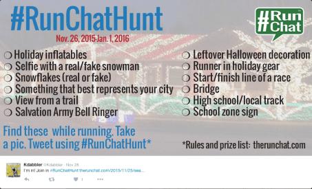 2015 RunChatHunt List