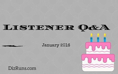 Listener Q&A January 2016