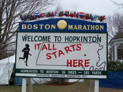 The Hopkinton Sign