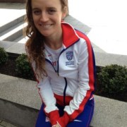 Tina Muir Representing Great Britain