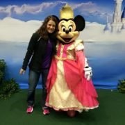 Megan Biller and Princess Minnie