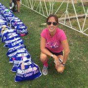 Amy Stone, Prepping for IM Boulder