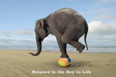 Finding Balance Isn't Easy