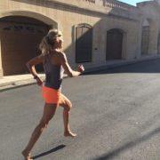 Barefoot Runner Julia Chi Taylor