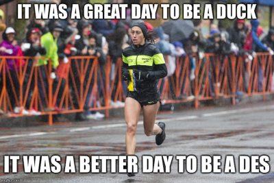 Boston Marathon, 2018, Des Linden, Meme