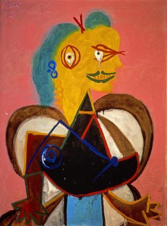 Portrait of Lee Miller as l'Arlesienne