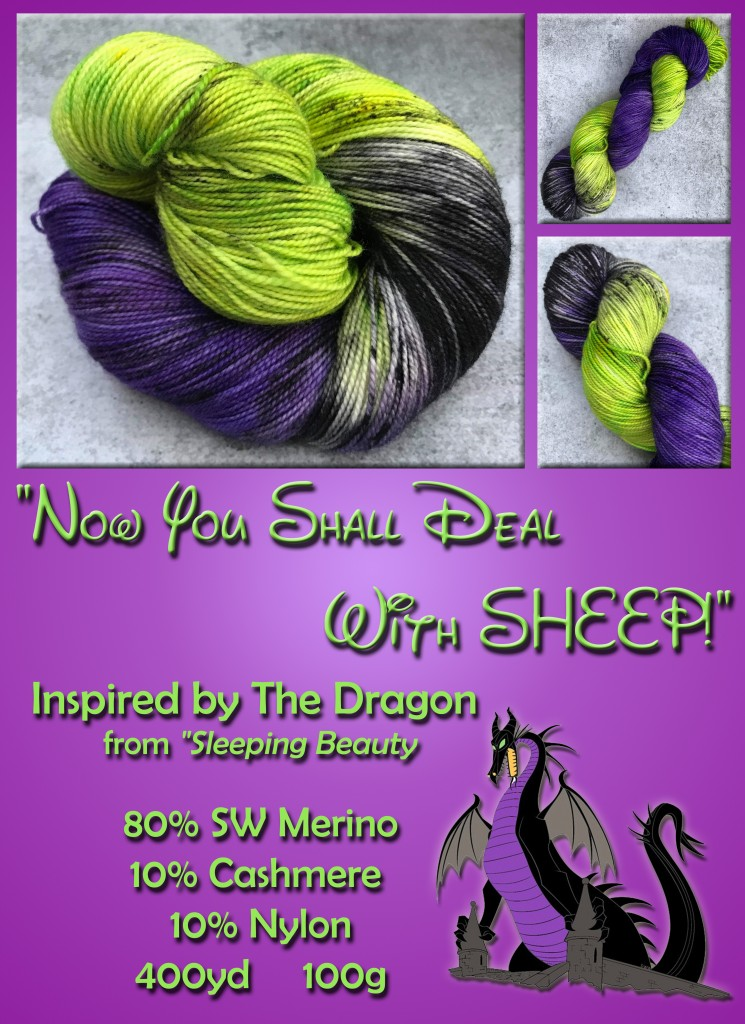 Dragon Yarn Banner