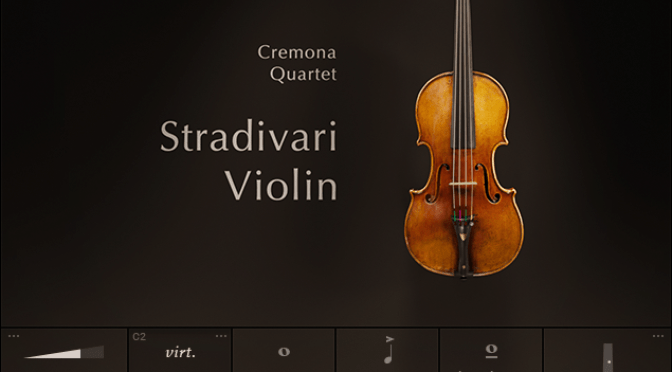 [News] Native Instruments rilascia STRADIVARI VIOLIN