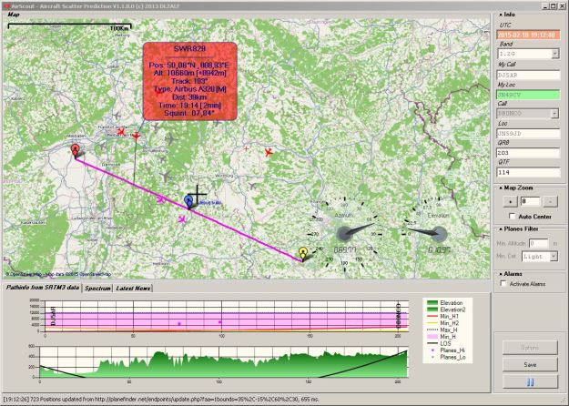 2015-02-10 20_12_49-AirScout - Aircraft Scatter Prediction V1.1.0.0 (c) 2013 DL2ALF