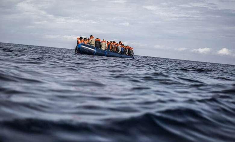 """صورة احباط عمليات هجرة غير شرعية 24 """"حراق"""" جزائري"""