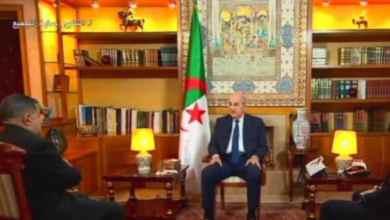 صورة الرئيس تبون يتسلم أوراق اعتماد 4 سفراء جدد لدى الجزائر