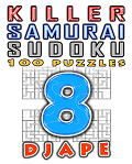 Killer Samurai Sudoku, volume 8