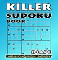 Killer Sudoku book, large print