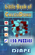 Little CalcuDoku book 150 puzzles