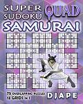 Super Quad Sudoku Samurai book