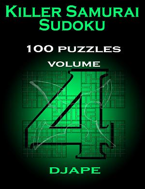 Killer Samurai Sudoku volume 4 100 puzzles