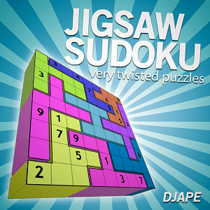 Jigsaw Sudoku, very twisted puzzles: a game for Kindle