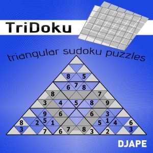 Tridoku - triangular Sudoku: a game for Kindle