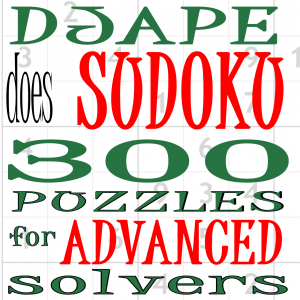 300 difficult Sudoku puzzles for Kindle