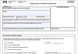 Estate Planning Don T Forget About The Tax Clearance