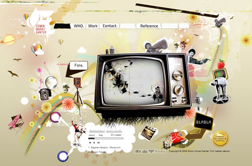 40+ Creative Flash Websites For Your Inspiration 2