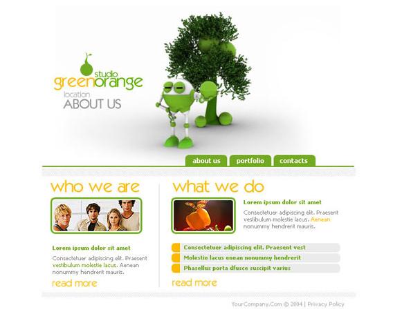 50+ High-Quality Free PSD Web Templates 7