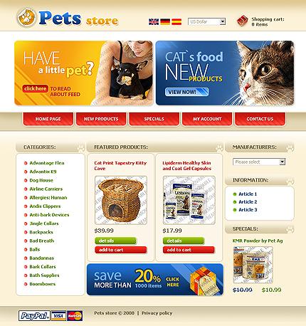 50+ High-Quality Free PSD Web Templates 13
