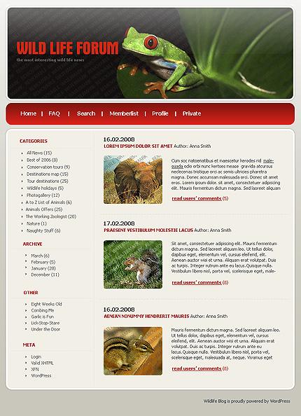 50+ High-Quality Free PSD Web Templates 18