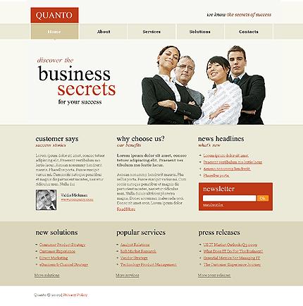 50+ High-Quality Free PSD Web Templates 21